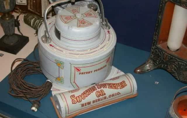 Hoover Model 0 einer der ersten kommerziellen Staubsauger der Geschichte