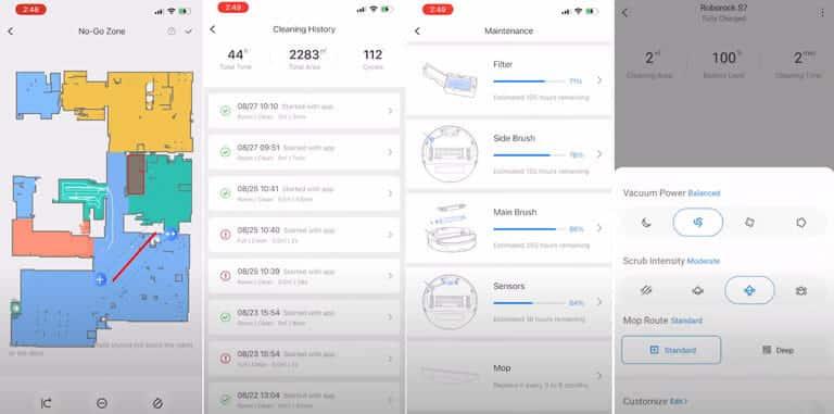 roborock app einblick