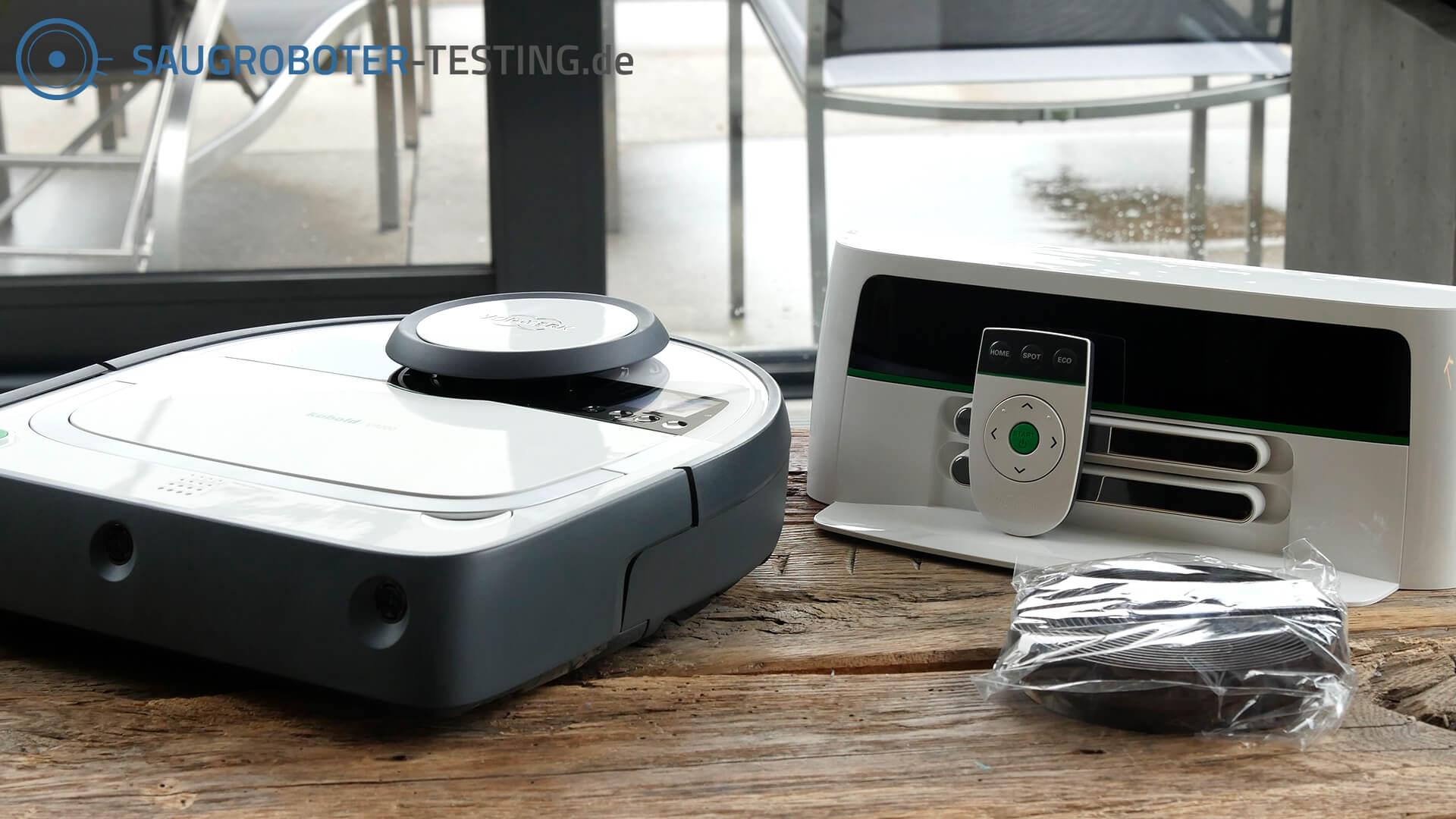 Vorwerk Kobold VR200 Lieferumfang